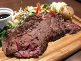 牛リブステーキボード