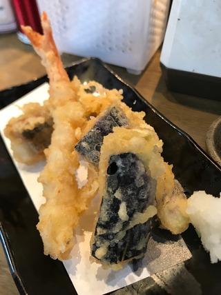 天ぷら3点盛