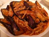 茄子豚肉炒め