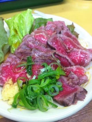 牛肉たたき