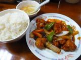 若鶏と五目野菜の甘酢煮定食