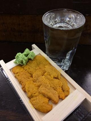 ウニ&純米酒