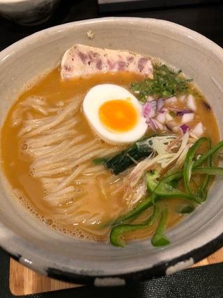 鶏白湯麺ver.4改〜まるごと甘海老〜