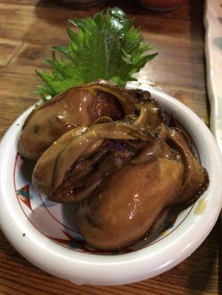 牡蠣の山椒煮