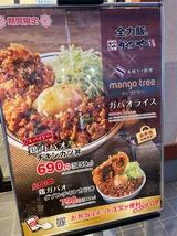 鶏ガパオチキンカツ丼