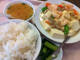 芝海老と豆腐のうま煮