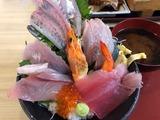 魚屋の海鮮丼特上