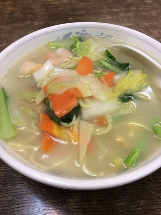 海鮮タン麺