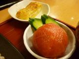 冷しトマト&厚焼き玉子