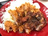 黒胡椒から揚げチキンカツ