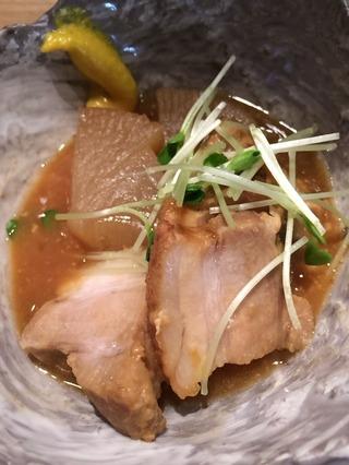 西京味噌仕立て豚角煮