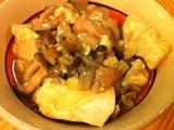 鶏肉と豆腐のあんかけ