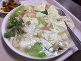 海鮮と豆腐煮込み