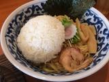 鶏白湯カレーライスつけ麺