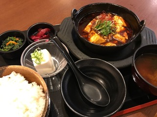 四川麻婆豆富定食
