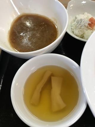 もっちり大麦小麦つけ麺 奥三河鶏白湯甘醤油