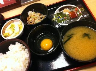 20110317納豆定食