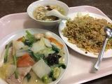 五目野菜炒め炒飯