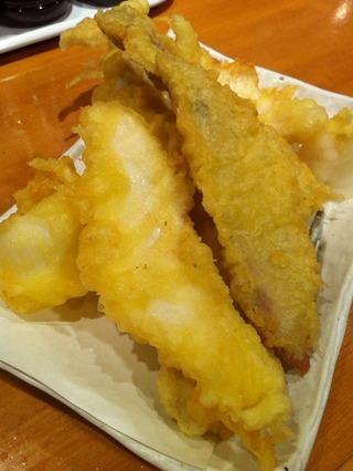 地魚天ぷら盛り