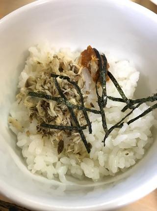 鯖そぼろ飯