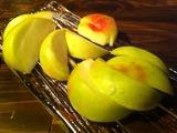 桃の塩漬け