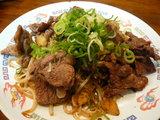 牛肉黒胡椒炒め