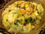 北海道産帆立の潮の香りあんかけ土鍋ご飯