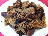 牛モツ黒豆ソース