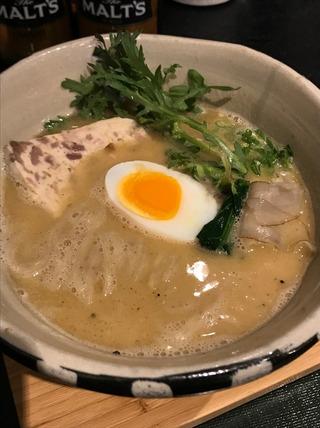 鶏白湯〜ほんのり味噌〜