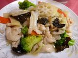 野菜/鶏塩味炒め