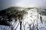古里の山雪に眠る