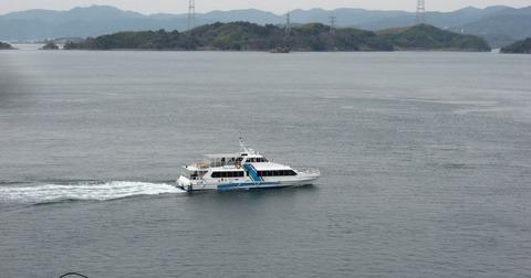 貸切の高速船