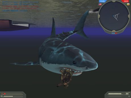 BF2ボート用サメ氏