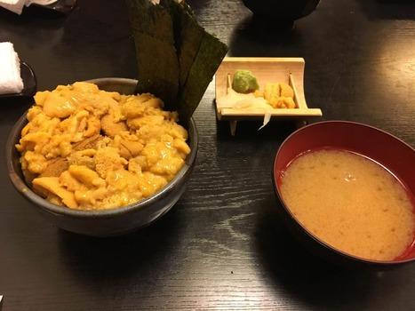 超豪華ウニ丼食べてきた!!!!!(※画像あり)