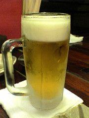 上司「この店はな、ビールがほんまにうまいんやで」 →