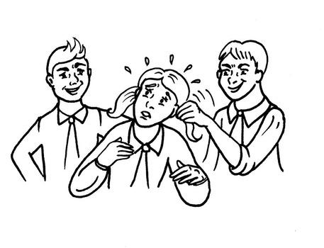 同窓会行ったらいじめっ子が学校の先生になっててワロタ