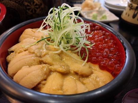 北海道でウニ丼食ったぞ〜www(※画像あり)