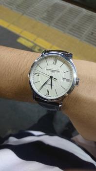 ワイが頑張って買った腕時計www(※画像あり)