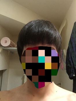 散髪で変な髪型にされて1ヶ月経った結果www(※画像あり)