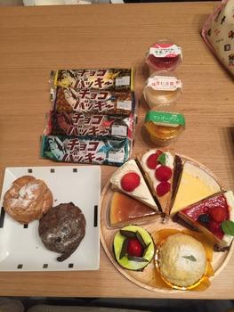 【豪遊】シャトレーゼでお昼ご飯いっぱい買って来たったwww(※画像あり)