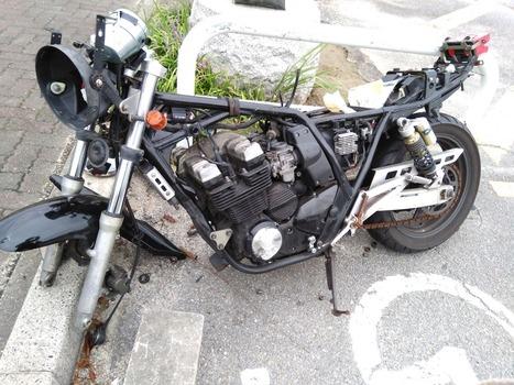 タダでオンボロバイク貰ったったwww(※画像あり)