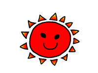 金環日食 めざましで観ました
