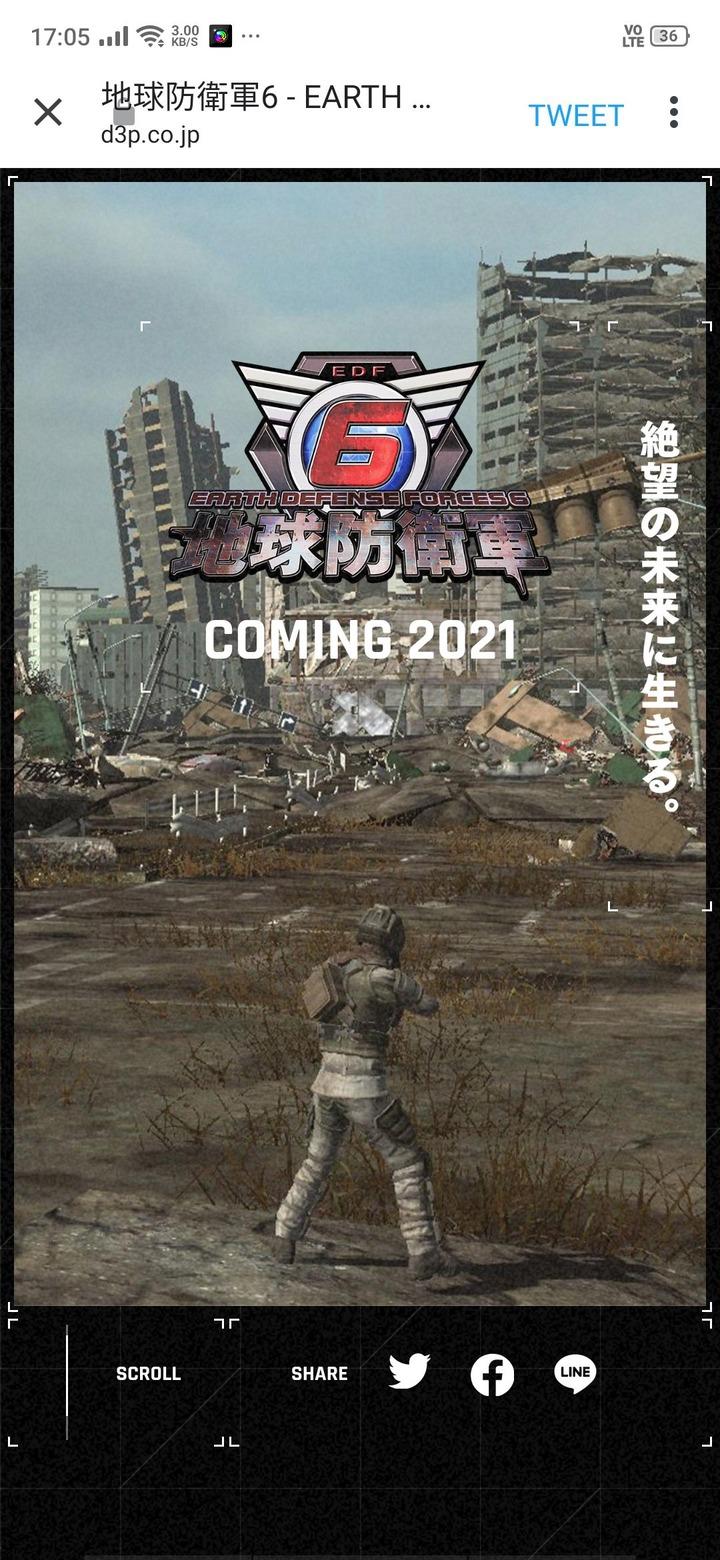 【EDF】地球防衛軍6,発売決定