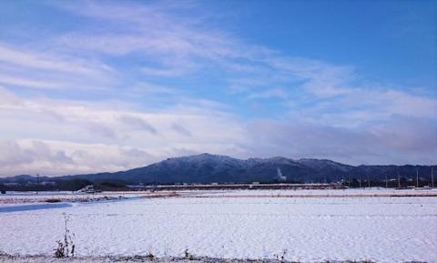 雪景色 竜王山 鏡山 (1)