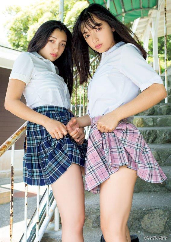 「エリカ&マリナ」とかいう姉妹グラドルwwwwwwww