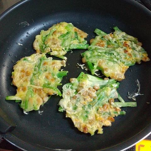 納豆チヂミ (4)