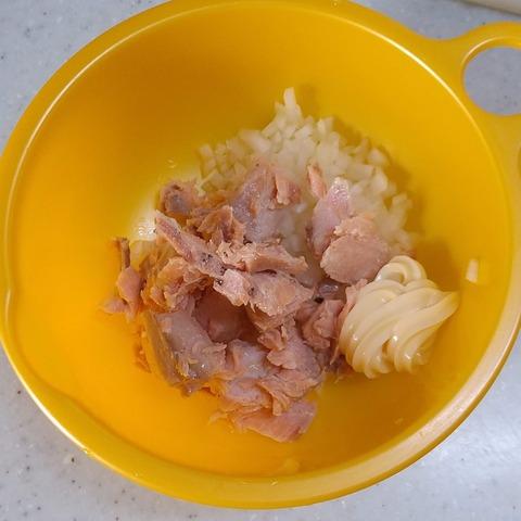 鮭玉サンド (5)