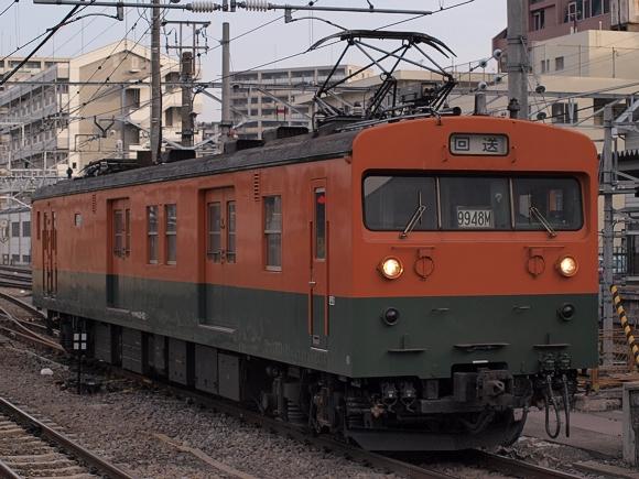 篠ノ井線の霜取列車に使用されて...