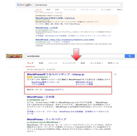 Google検索画面刷新