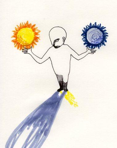 ふたつの太陽